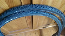 Cyclocross Winter Thin & Grippy 700c Pair of Tyres