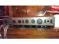 Audiolab 8000A amplifier + mm/mc