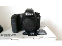 Canon 6D DSLR Full Frame Camera - Boxed with all accessories