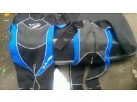 2 wet suits for sale