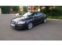 2007 Audi A6 S-Line TDI Diesel Saloon . Damage / Repair .. Panel damage, HPI Clear STARTS & DRIVES