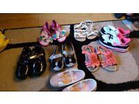 Girls shoe bundle size 7