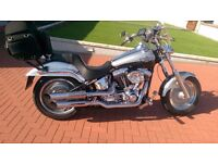 Harley Davidson FXSTDi Deuce: Anniversary edition