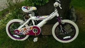 Huffy girls bike suit ages 4 to 6