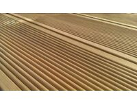Brand New Swedish Fine Ribbed Premium Decking And Base 3.6m x 3m
