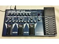 Boss ME-50B multi effect processor for bass guitar
