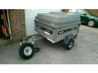 Daxara 127 Trailer with lockable lid