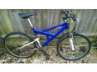 Full suspension bike, needs new brakes