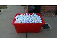 Mixed golf balls 600+