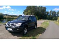 TOYOTA LANDCRUISER INVINCIBLE AUTO, 8SEATER,SUNROOF,1FAMILY FROM NEW,S/H,NEW GRABBERS,NEW MOT