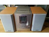 Panasonic CD and Radio player