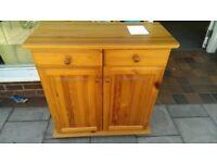 Pine Side Cabinet