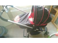 ICandy Cherry Travel System inc car seat