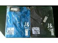 2 Jack and Jones t-shirts (large)