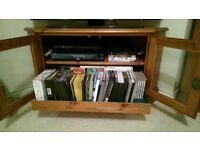 Ducal Rosedale Corner TV Cabinet.