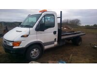 2 iveco dally spares or repair