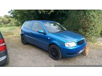 Volkswagen polo 1.0 full mot spares or repair (not seat skoda bmw audi citreon peugoet)