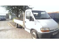 LWB Renault Master New MOT Flatbed Dropside Crew Cab Vauxhall Movano Iveco Daily Nissan Fiat Ducato