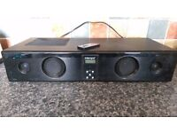 intempo sound bar box with built in woofer