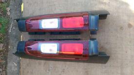 Genuine Renault Trafic III, Opel Vivaro 2014-> Left Right Rear Tail Lamp