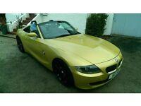 BMW Z4 2.0 Si 2007 phoenix yellow