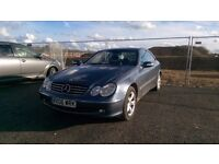 Mercedes clk in very good condition