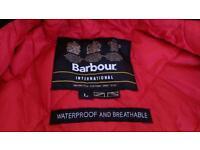 Black Barbour jacket(not wax)