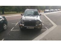 Jeep Cherokee Black Automatic 90,000 miles