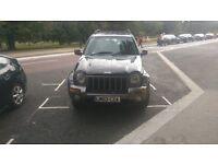 Jeep Cherokee Black Automatic 90,000 miles