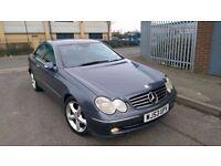 Mercedes CLK 270 CDI Avantgarde, Diesel, 2003, Auto Tiptronic, Coupe, MOT, Service History