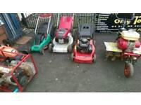 Tools /lawnmowers /wheelbarrows and more