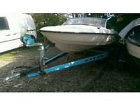 Fletcher arrowflyte 14ft speed boat project