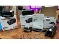 X3 Sony x3 Sony HDR-CX405 full HD camcorder (30x optical zoom)