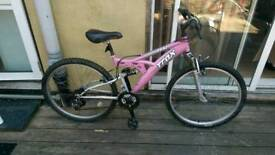 Trax ladies mountain bike! Double suspension!! Excellent condition!!!!