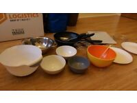 Bowls, Dishes Pan and tableware