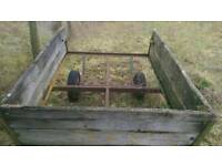 Trailer for use with Compact Tractor / Mower / Quad Bike