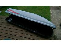Roofbox luggage carrier for car VGC Thule style