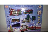 Santa's musical train set