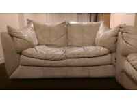 Leather 2sits sofa for sale