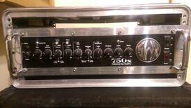 SWR 750X Bass Head & 2x Cabs