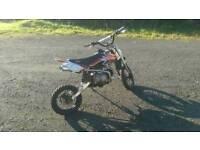 Stomp 120cc pitbike £300