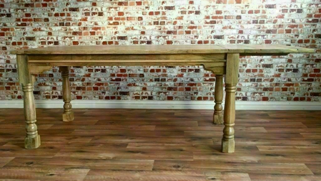 7ft Extending Out To 10ft Extra Large Rustic Farmhouse Kitchen
