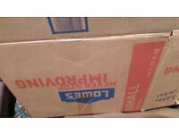Used cardboard boxes, various sizes, 20