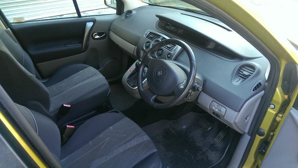 Renault Scenic 2005 Interior Renault Scenic 2005 60k Auto