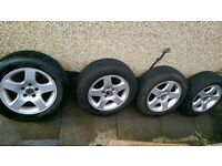 VW Alloys 5x100 15""