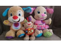 Learning toys - Fisherprice and Vtech Alfie - £5
