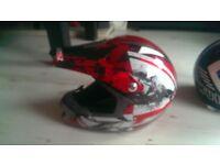 2x motorcross helmet