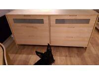 Solid Pine Bedroom Draws / Storage