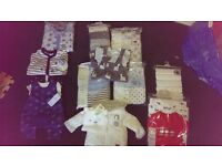 BNWT baby boys clothes from a smoke and pet free home.