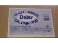 """Daler Board for oil painting 18"""" x 14"""" NEW"""